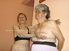 Naked old and fat grannies