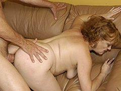 Grandma polishes her well practiced fucking skills