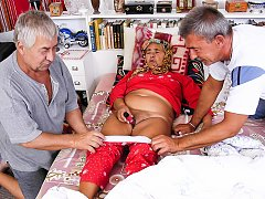 Grandfathers visiting grandmother for sex