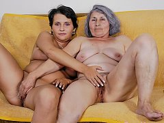 Kornele and her lesbian mature girlfriend