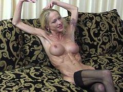Carmen showing veins, muscles and bones