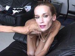 Beautiful Skinny and flexible Gymnast Ballerina Inna
