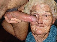 One pervert granny fucks another granny